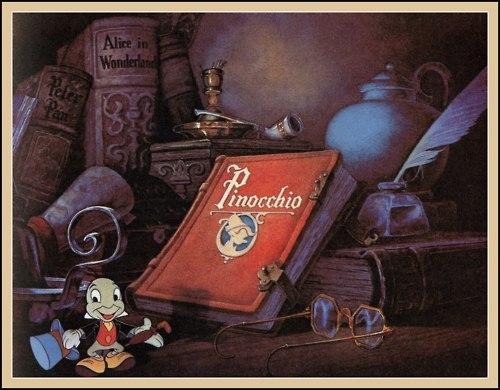 disney, jiminy cricket, pinocchio