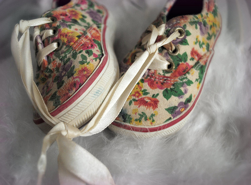 fashion, floral, keds, shoes