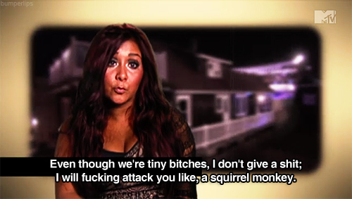 funny, jersey shore, snooki