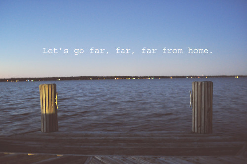 home, ocean, photography, pretty, quote