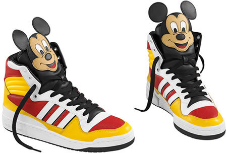adidas, mickey mouse, shoes, sneakers