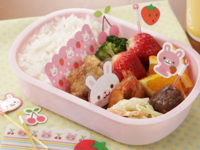 bento, cute, food, japan, japanese, kawaii, strawberry