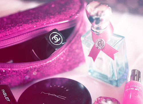 chanel, cute, fashion, girl, nail polish, perfume, photography, pink