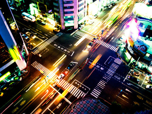 city, colorful, light, night, photography - image #178166 ...  city, colorful,...