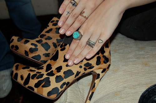 cross, heart, high heels, jewellery, shoes