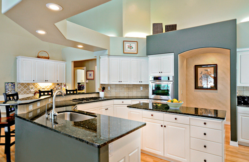 Interior designer 39 s house kitchen afreakatheart Internal house design