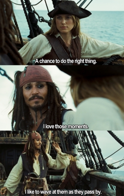 elisabeth swan, funny, jack, jack sparrow, johnny depp