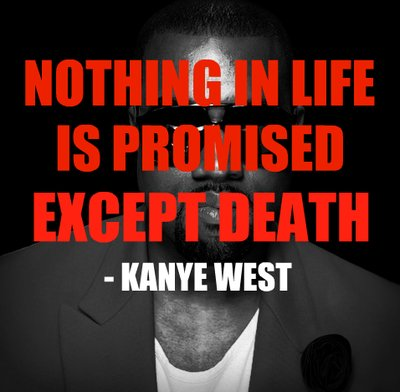kanye west, quote, text