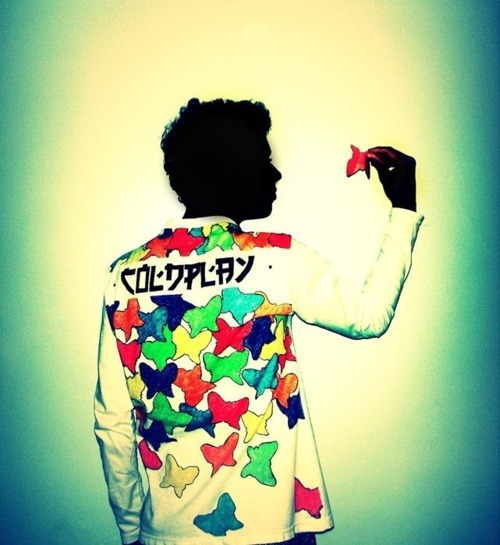 *-*, amazing, awesome, band, bands, butterfly, coldplay, color, colorful, cute, editor, lovers in japan, music, photo, photography, scene, sing, song, t-shirt, vituhituh, viva la vida