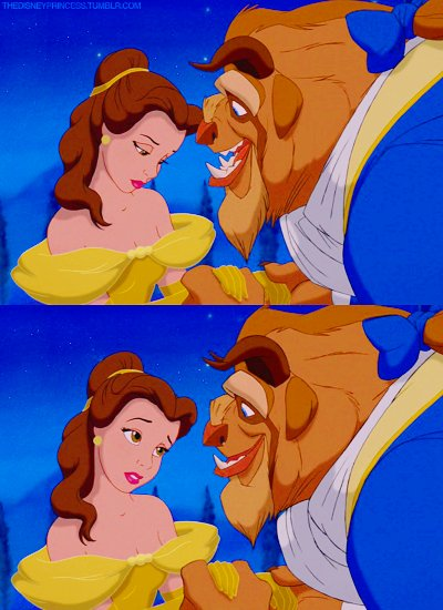 a bela e a fera, beast, beauty, beauty and the beast, blue