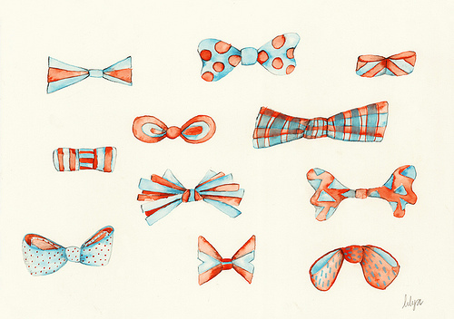 Cute Bow Tie Drawing ...photography