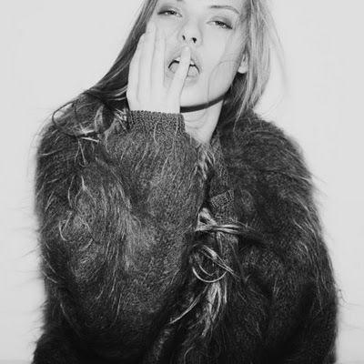 amazing, b&w, beautiful, beauty, black & white, black and white, blonde, brunette, clothes, cute, eyebrows, eyes, fashion, faux fur, fingers, fur, fur coat, fur jacket, gorgeous, hair, hands, high fashion, inspiration, inspirational, lips, model