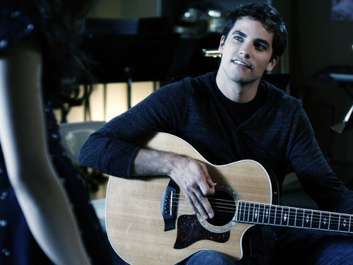 aria and noel, boy, brant daugherty, guitar, guy