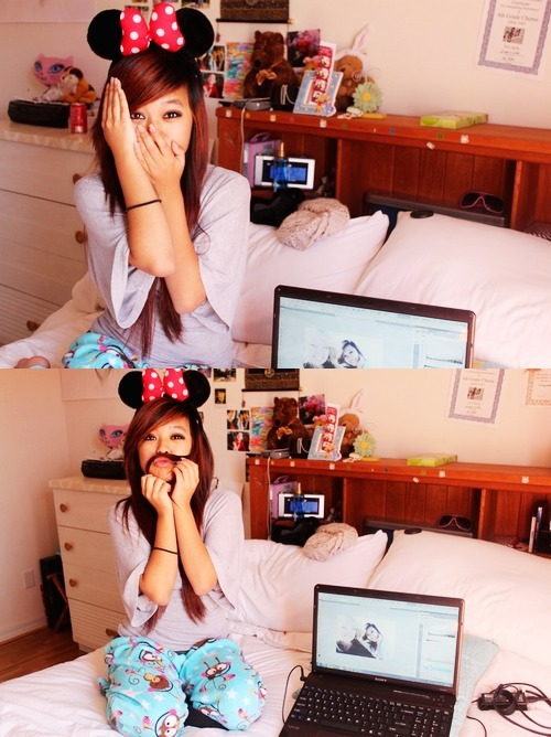 asian, bedroom, cute, disney, fashion