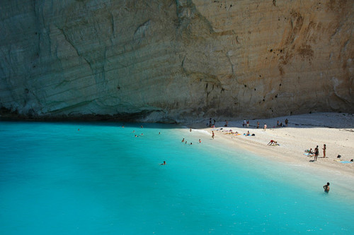 azul, beach, grecia and greece