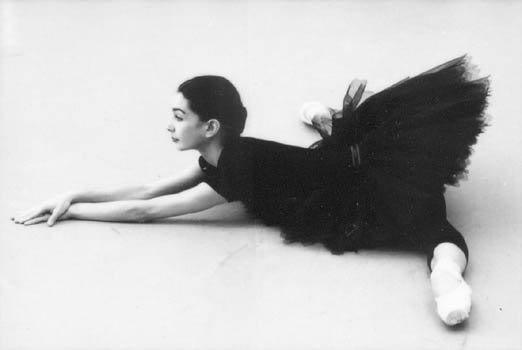 ballet, black, black and white, girl, sapatilha, tamara rojo, tutu