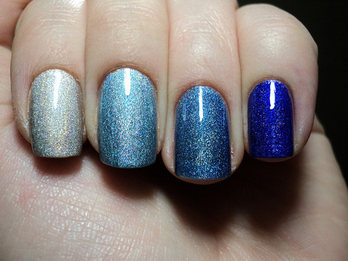 blue, cute, disco, fashion, finger, fingernails, hands, nail polish, nails, trendy, vintage, woman
