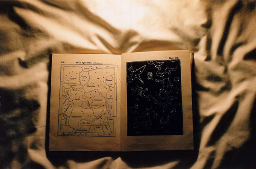 book, constellations, map, stars