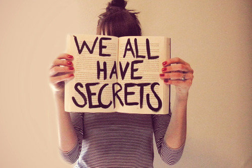 book, girl, secrets