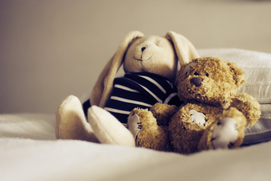 bunny, cute, friends, sweet, teddy