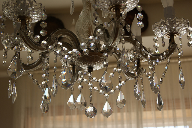 MAGNETIC CHANDELIER CRYSTALS – Glass Prisms for Chandeliers