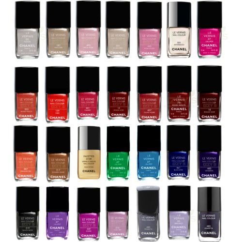 chanel, color, nail polish