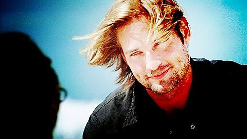 charm, josh holloway, lost, sawyer