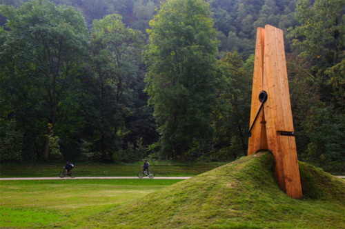 clothes peg, nature, park, sculpture, wood