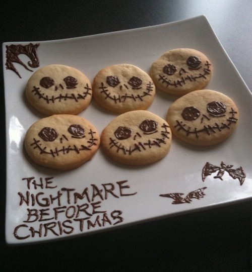cookies, cute, halloween, jack, jack skellington