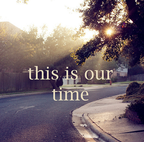 cute, hanna och emma, photography, street, text, this is our time, time, tree
