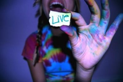 happiness, laughing, live life, paint