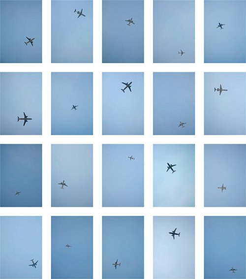 airplane, blue, fly, sky