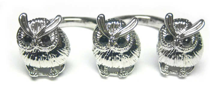 animal, cute, fashion, jewellery, owl