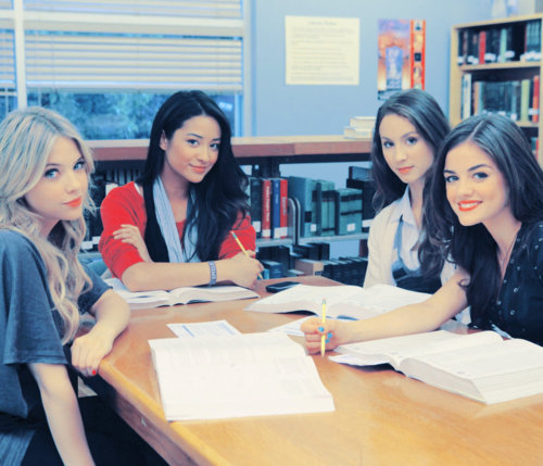 aria, ashley benson, emily, girls , hanna
