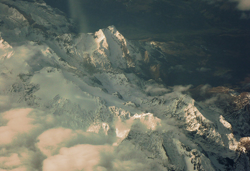 art, beautiful, cloud, mountain, photo