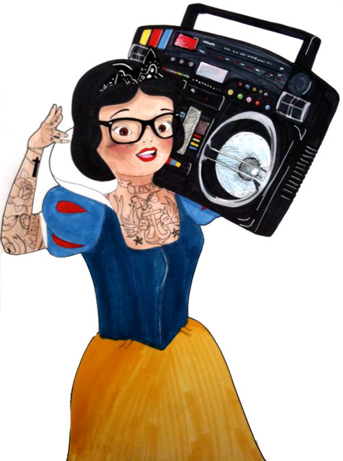 babe, boom box, boombox, chick, cute