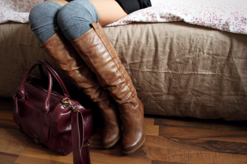 bag, boots, cute, fashion, handbag