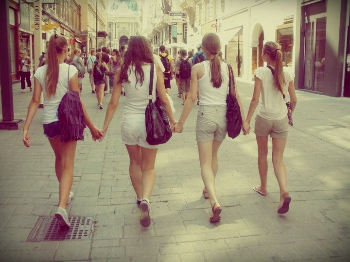 bags, best friends, fashion, girls , shorts