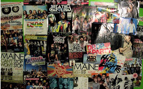 bands, music, posters