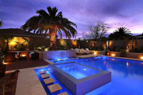 beautiful, garden, gorgeous, jacuzzi, layout