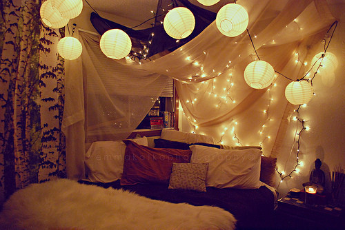 bed, bedroom, canopy, comfy, comfy room