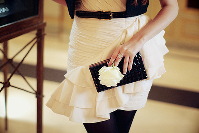 belt, dress, fashion, girl, ring