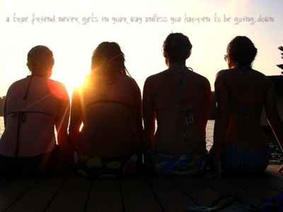 best friend, cottage, down, edit, friend, gets, girl, girls, happen, inspiration, life, never, photograph, pretty, quote, summer, sunset, text, true, typography, way, your