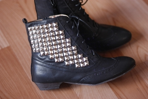 black, boots, cowboy boots, fashion, photography, shoes, silver, style, vintage