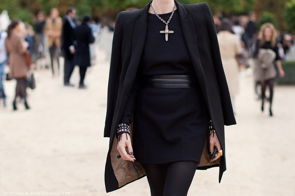 black, bracelets, coat, cool, cross