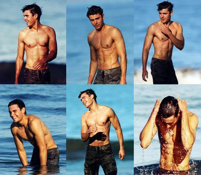 blue, body, delicious, efron, hot