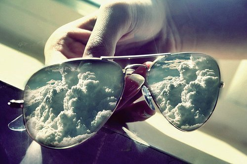 aviator, blue, clouds, gladiator, gladiator shades, glasses, shades, sky, sun glasses, sunglasses