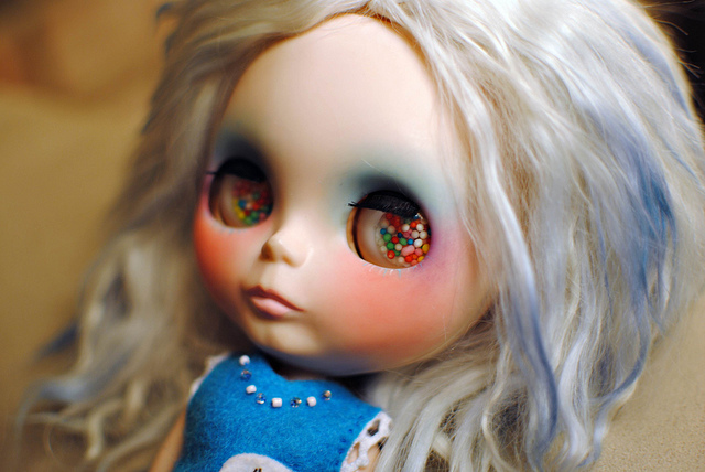 blythe, blythe doll, creepy, creepy doll, cute doll