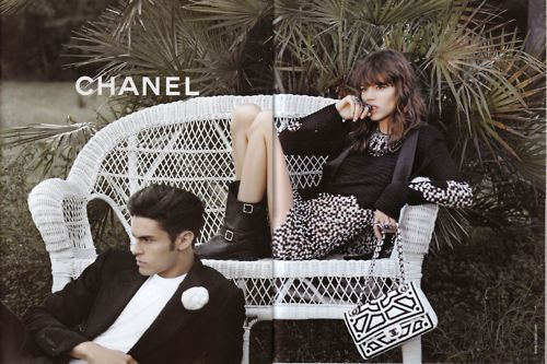 boy, brunette, chanel, fashion, freja beha