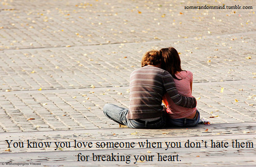 break, couple, heart, hurt, love